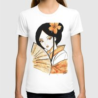 geisha T-shirts featuring Geisha by KuroCyou