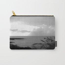 Black & White Beach Art Photogaph Carry-All Pouch