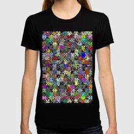 Jigsaw junkie T-shirt