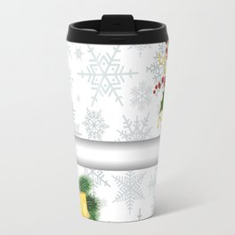 Christmas banners Travel Mug