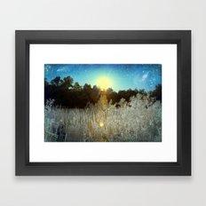 First Creek Lake | Infrared  Framed Art Print