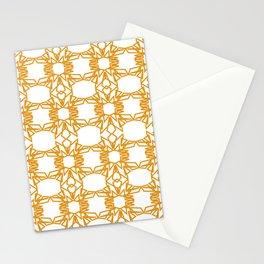 Luxury mandalas gold--white Monograms Stationery Cards