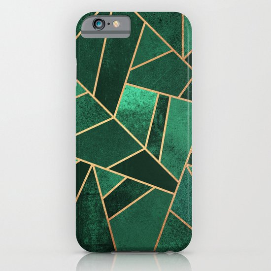 Emerald and Copper iPhone & iPod Case