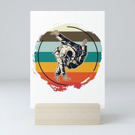 Sparring Athletes Mini Art Print