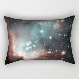 Nebula and stars Rectangular Pillow