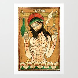 Man of Sorrows Art Print
