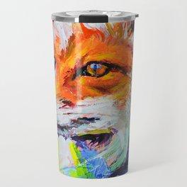 Fox Colors Travel Mug
