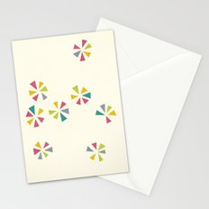 Colour Wheels Stationery Cards