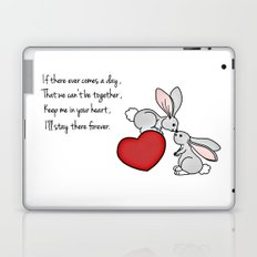 Snuggle Bunnies Laptop & iPad Skin