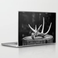 antler Laptop & iPad Skins featuring Antler by Danielle Fedorshik