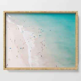 beach - summer love II Serving Tray