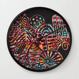 Imprint IV Wall Clock