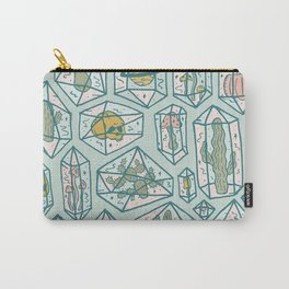 Crystals and Plants Carry-All Pouch