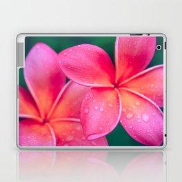 Aloha Hawaii Kalama O Nei Pink Tropical Plumeria Laptop & iPad Skin