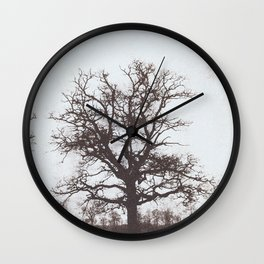 The Silence of Trees Wall Clock