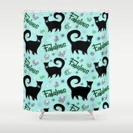 Fabulous Felines Shower Curtain