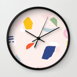 Not Your Grandmother's Terrazzo Wall Clock