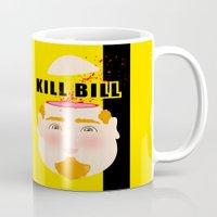 kill bill Mugs featuring Kill Bill by Frikaditas T-Shirts