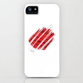 Japan Flag Traveler Japanese Culture iPhone Case