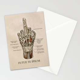 Fuck Your Anatomy Stationery Cards