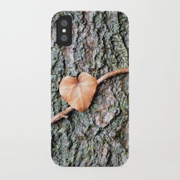 Heart and tree iPhone Case