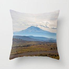 Shasta Road Throw Pillow