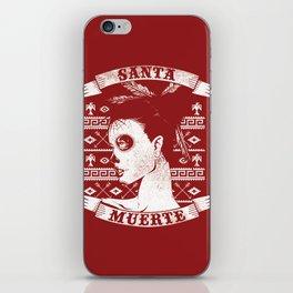 Santa muerte iPhone Skin