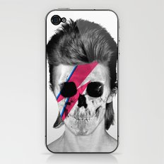 Skull Bowie iPhone & iPod Skin