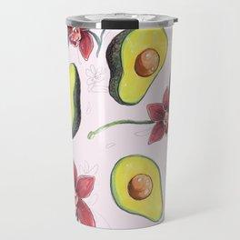 Avocados & Orchids Travel Mug