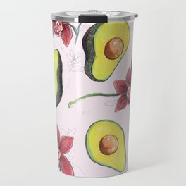 Avocados & Orchids Travel Mug