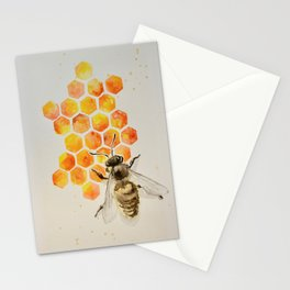 Honey bee Stationery Cards
