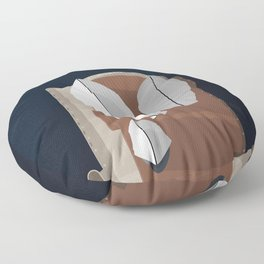 Sydney Opera House From Above  Floor Pillow