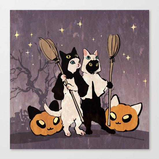 halloween cats by demianasche