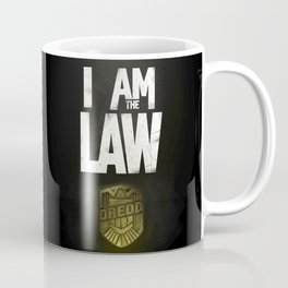 I Am the Law - Judge Dredd Coffee Mug
