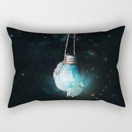 birth of the light Rectangular Pillow