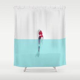 Good luck Japan Carpa Shower Curtain