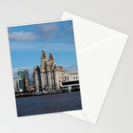 Liverpool Mersey Liver Building Stationery Cards