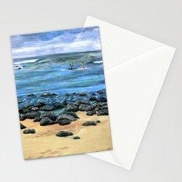 Poipu Beach Landscape Stationery Cards