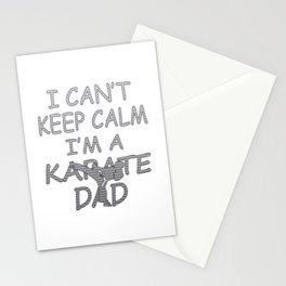 I'M A KARATE DAD Stationery Cards