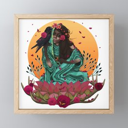 ANISHA Framed Mini Art Print