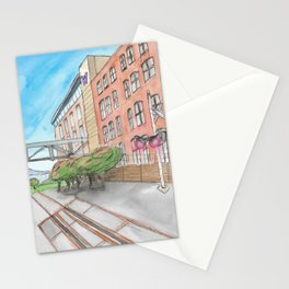 The Campus Railroad Stationery Cards