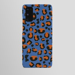 Jungle - Leopard Pattern Blue Android Case