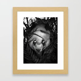 P is for the Panda Framed Art Print