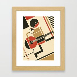 Bauhausmusic - Part III Framed Art Print