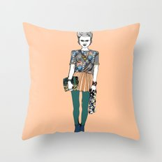 Party Doo Throw Pillow