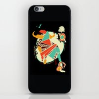 buffalo iPhone & iPod Skins featuring Buffalo by Dimitra Tzanos