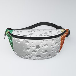 Flag of Ireland - Raindrops Fanny Pack