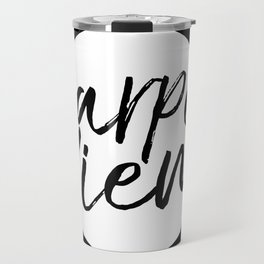 Carpe Diem Inverted Travel Mug