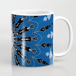 I've Got the Blues Digital Spiral Art Design Coffee Mug