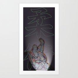 Jiu-Jitsu Art Print